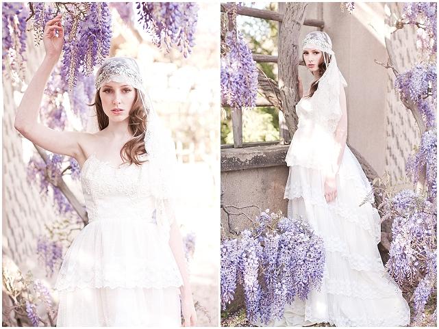 Gabriella Vine with French Veil