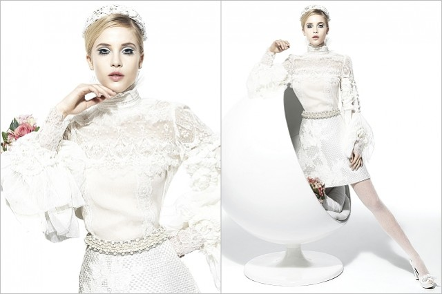 Be iconic: 60s style   wedding dress inspiration