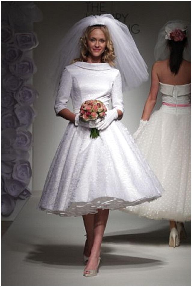60ies Wedding Dress.Sixties Style Wedding Dresses Wedding