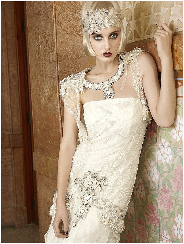 mademoiselle vintage 1920s wedding dress inspiration from yolan cris