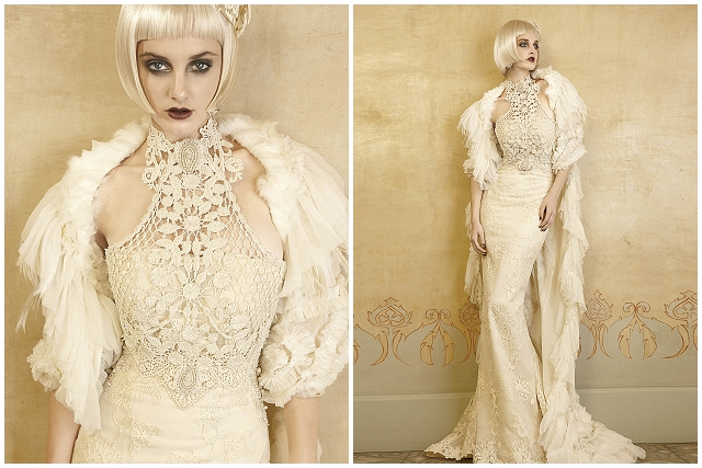 Mademoiselle Vintage ~ 1920s wedding dress inspiration from Yolan Cris