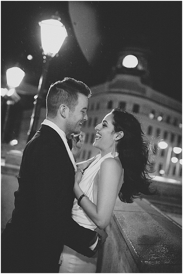 A Midnight Engagement Session
