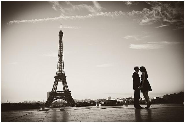 Eiffel Tower / France Engagement Shoot