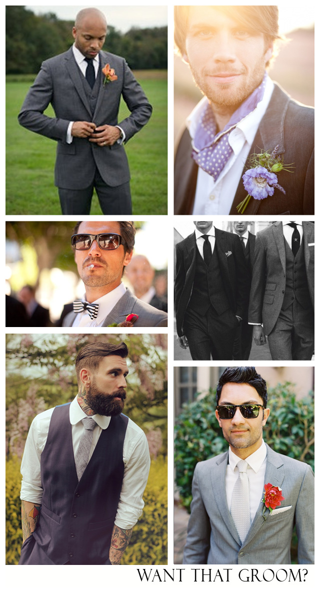 Want That Groom ~ style