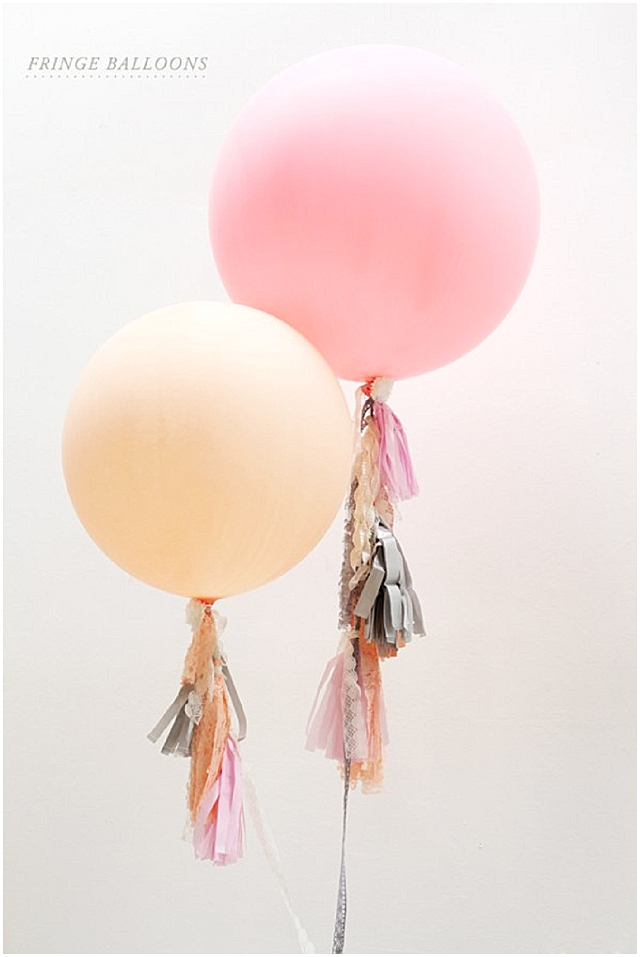 Pretty + Cool Wedding Balloons ~ Wedding Ideas + Tutorials - Want