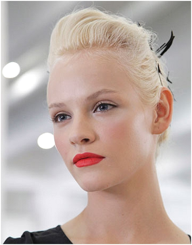 Modern vintage bride ~ makeup trends 2012