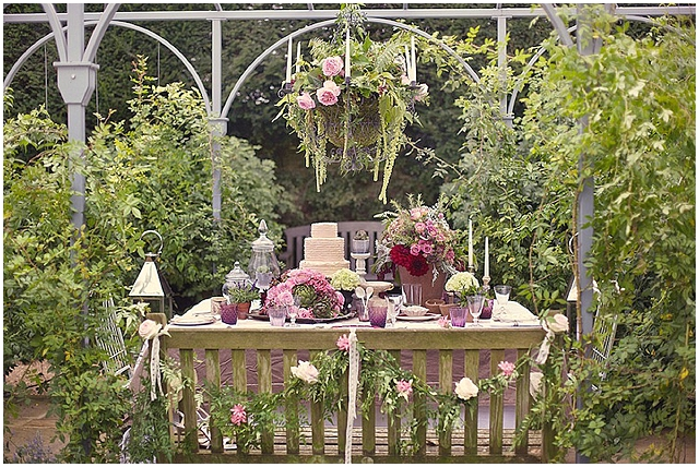 The Secret Garden English Garden Styled Wedding Inspiration