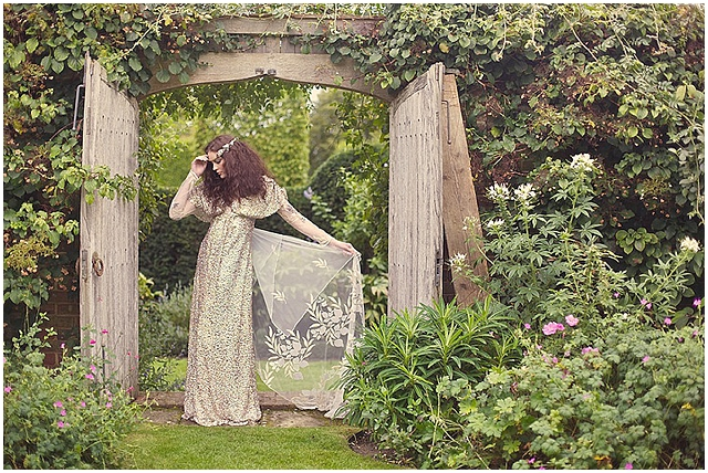 The Secret Garden ~ English Garden Styled Wedding Shoot