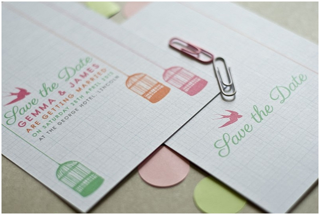 win your wedding stationery
