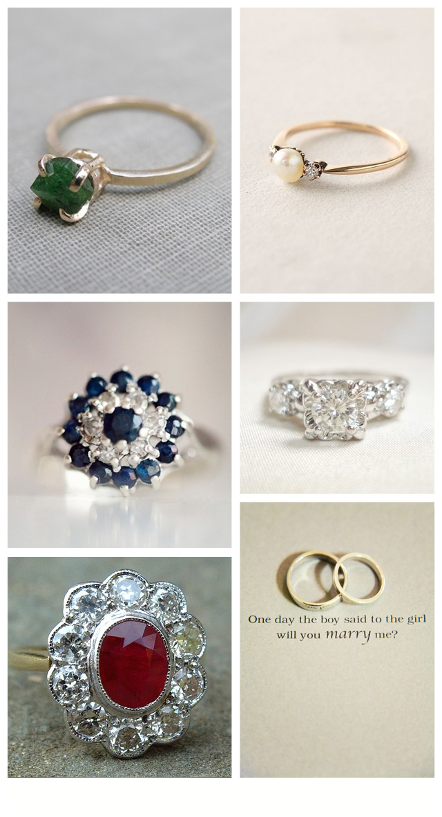 Stunning Alternative Engagement Rings