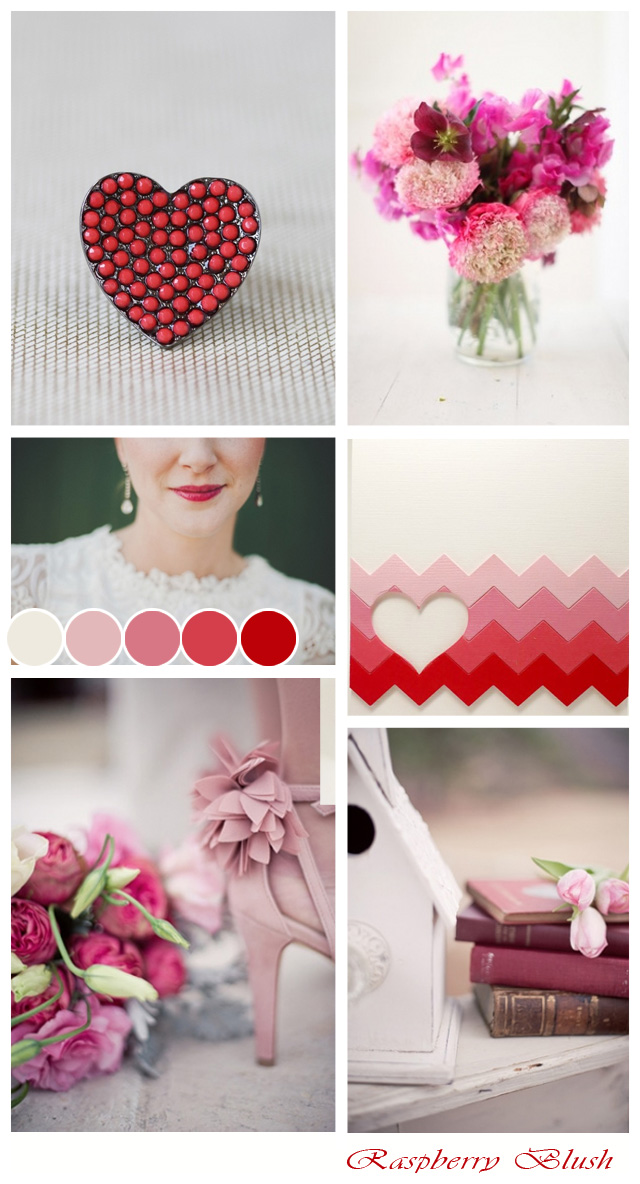 Blush Pink + Raspberry Wedding Inspiration