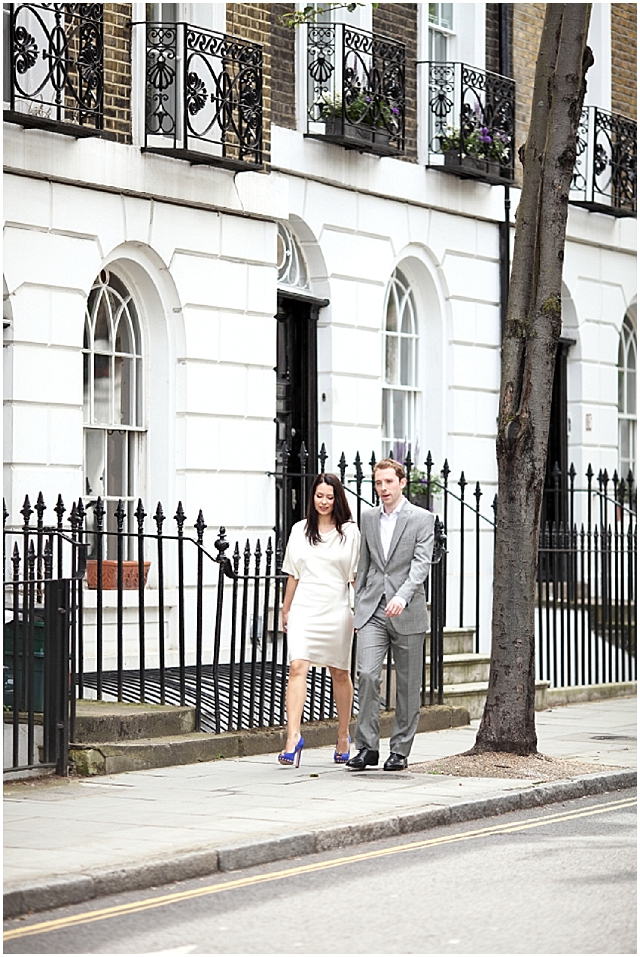 A Chic & Simple London Elopement