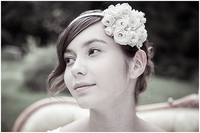 beautiful bespoke bridal headpieces