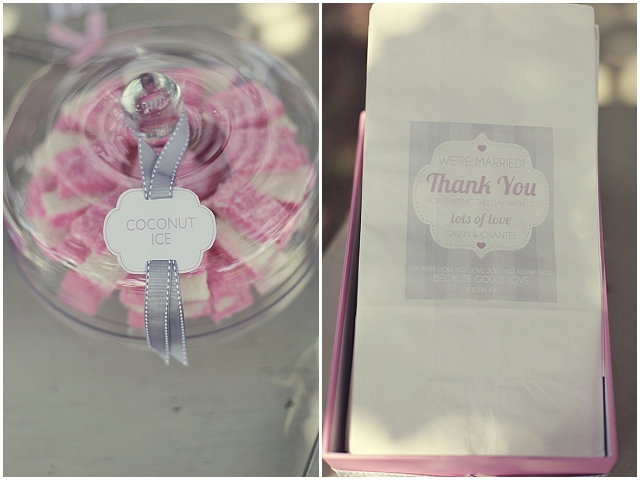Pretty in pink {and grey} wedding