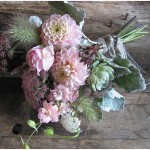vintage flowers wedding bouquet