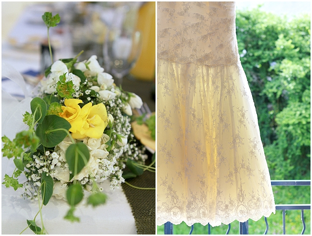 A handmade, rustic wedding in France!
