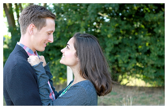 Addison & Liane. A beautiful engagement. Written in the stars.