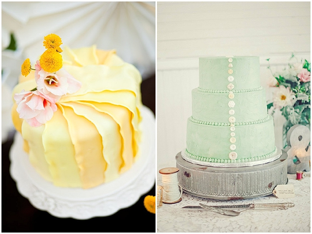 Pretty Wedding Cakes & Trends for 2013