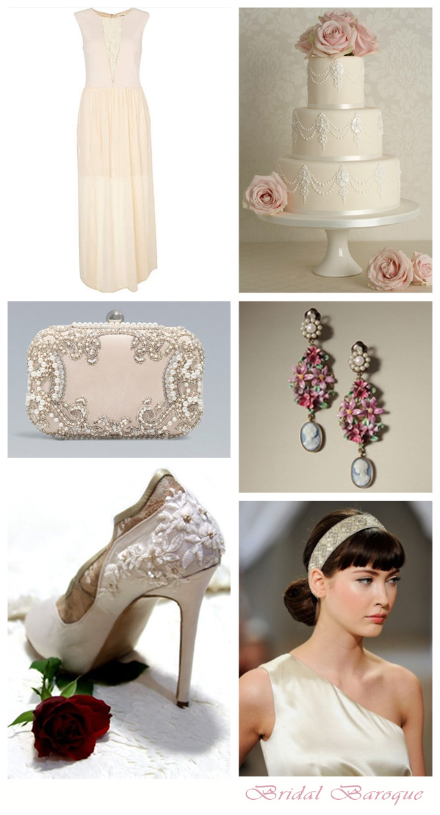 Bridal Baroque ~ Wedding Inspiration