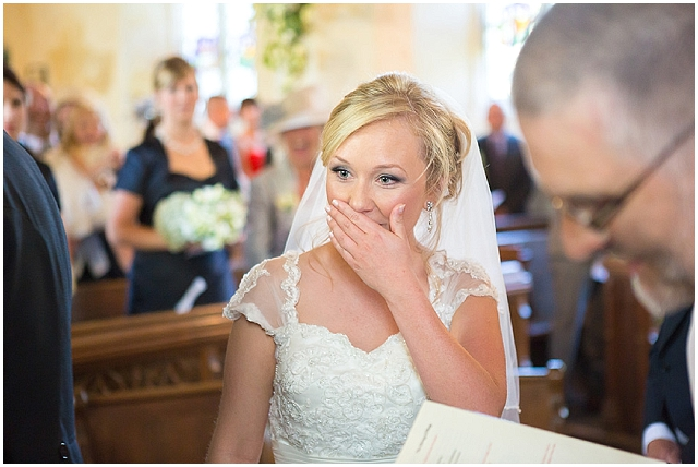 Groom pranks the bride with lost ring...
