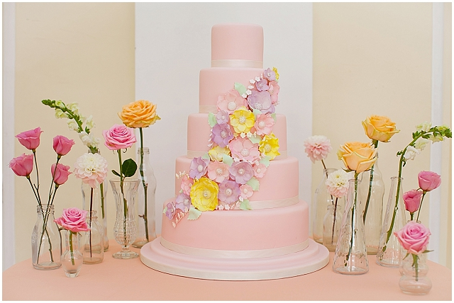 Through the eras, luxury cake collection