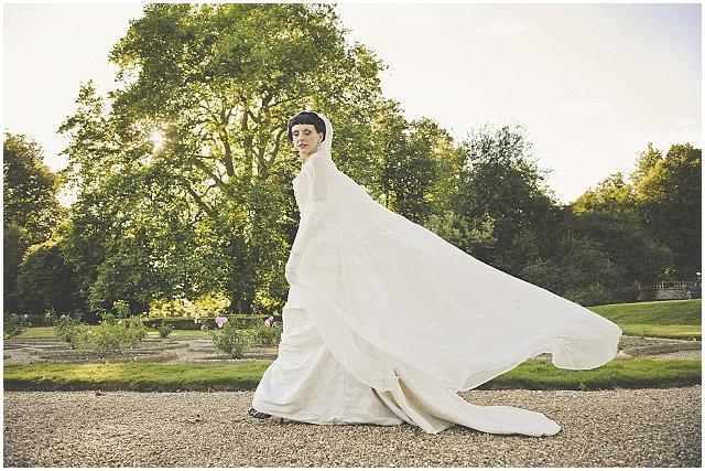 Halloween-bride