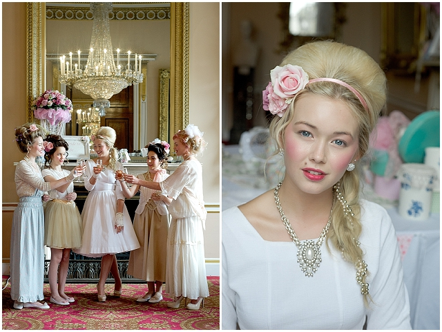 Marie Antoinette Inspired Bridal Shoot - Want That Wedding ~ A UK Wedding Inspiration & Wedding Ideas Blog