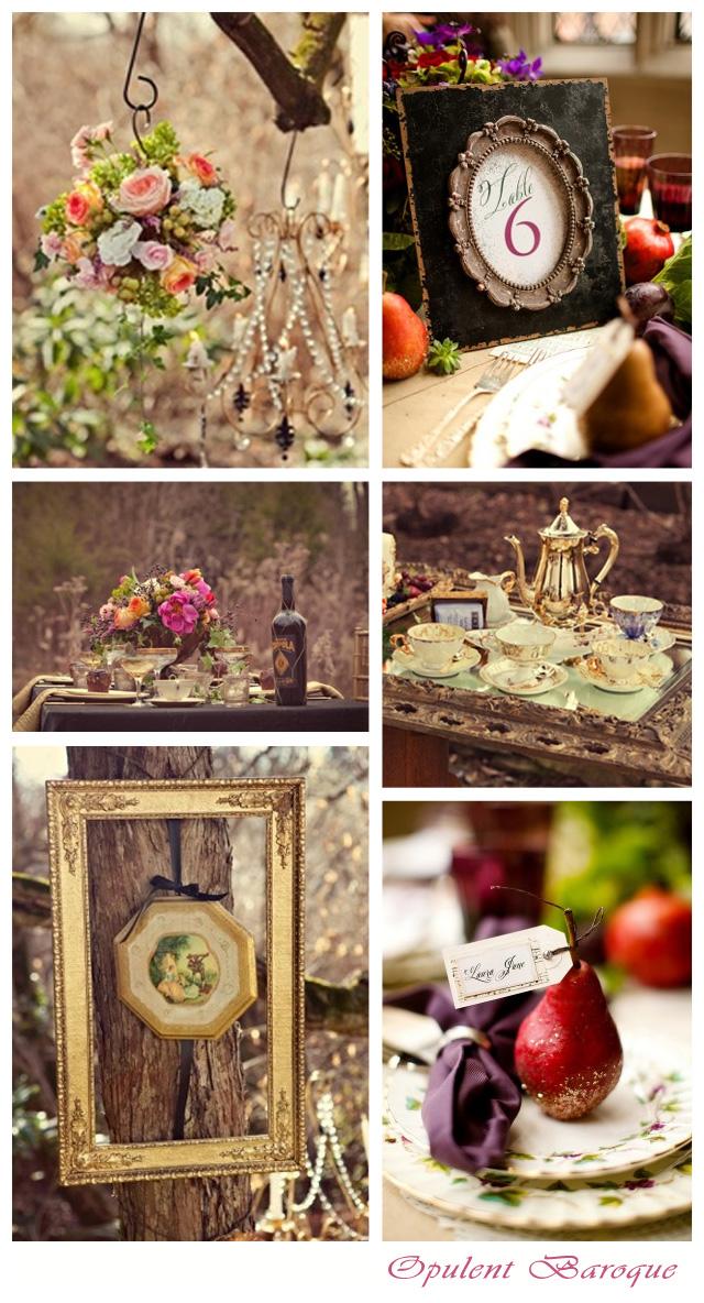 Opulent Baroque ~ Wedding Inspiration