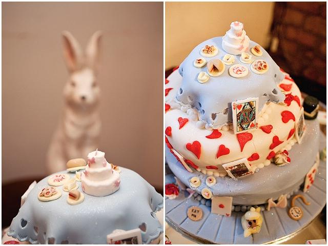 Alice in Wonderland Inspired Wedding