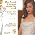 Zoe Lem's Vintage Wedding Fair 2012