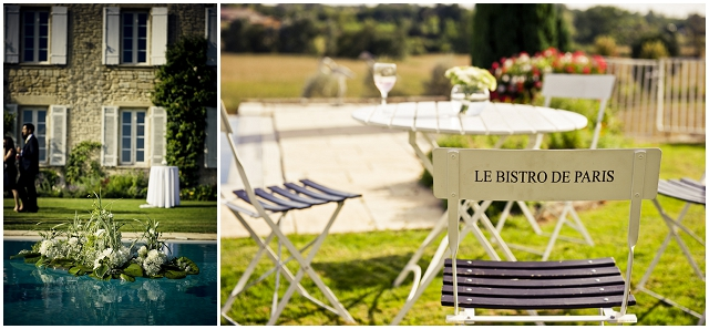 A romantic outdoor, french chateau wedding