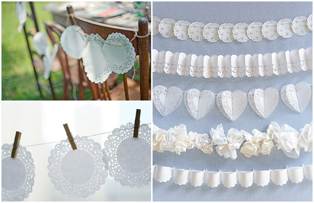 Doily wedding accessories decor ideas want that wedding a uk doily wedding accessories decor ideas junglespirit Image collections