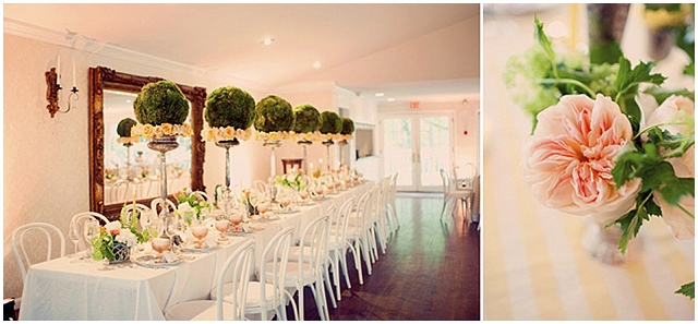 French Country Chic Themed Wedding