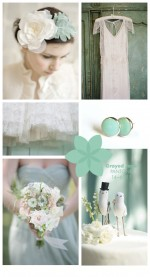 Pantone Wedding Inspiration | Grayed Jade