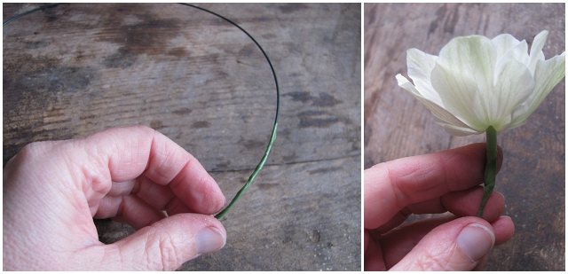 DIY Flower Headcrown
