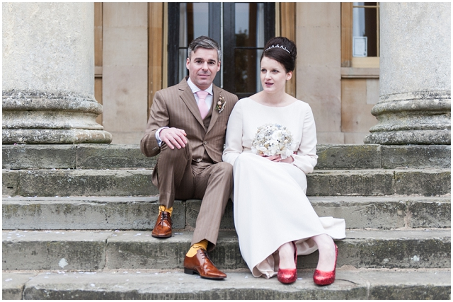 An Intimate Elopement With Sparkly Red Pumps!