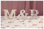 Wooden DIY Initials ~ Wedding Project