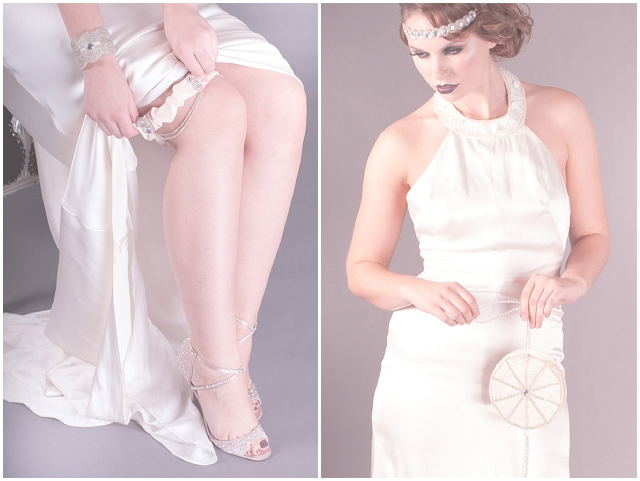 1920s Inspired Wedding Accessories: Britten