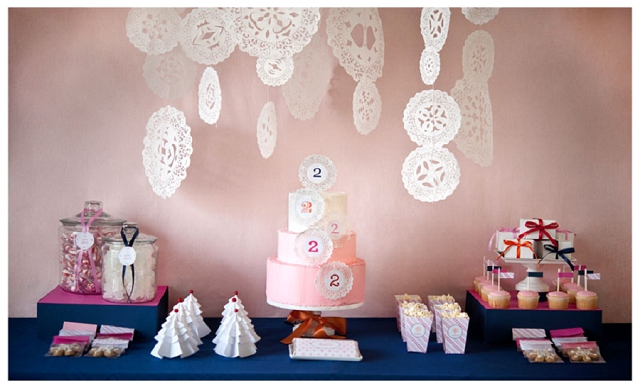 Doily Wedding Accessories, Decor & Ideas