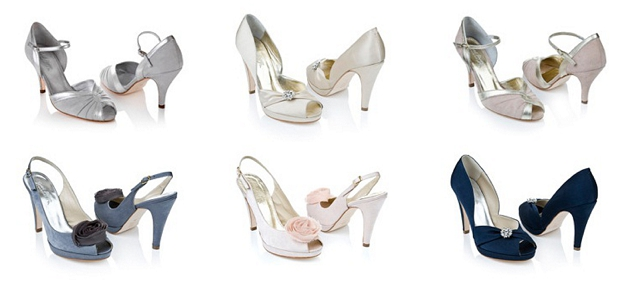 Two birds and Rachel Simpson Bridal / Bridesmaid Shoes