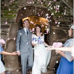 A Folksy, Vintage Inspired Barn Wedding