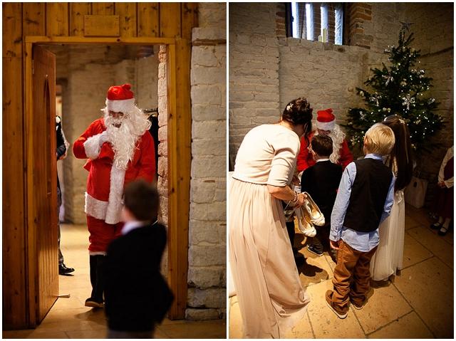 An Elegant Barn, Christmas Wedding