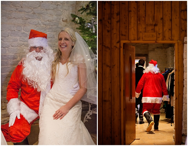 Elegant Barn: Christmas Wedding | Real Wedding