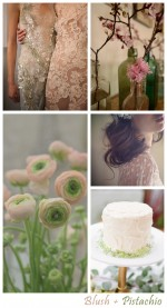 Blush & Pistachio | Wedding Inspiration