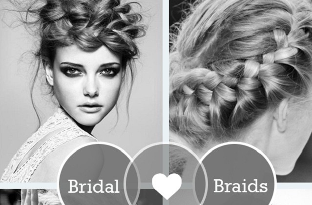 Wedding hair tutorials: beautiful braids.