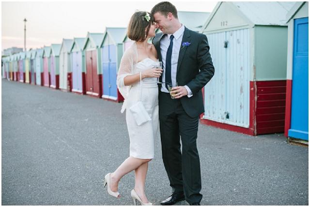 Brighton & Hove | Bride & Groom Beach Hut