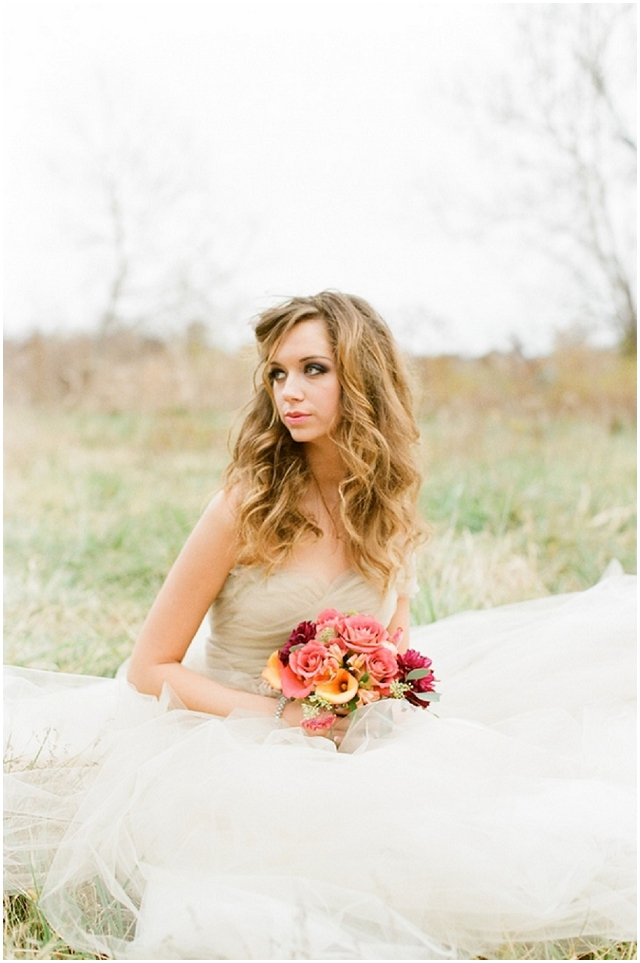 A Wonderfully Rustic & Whimsical Styled Bridal