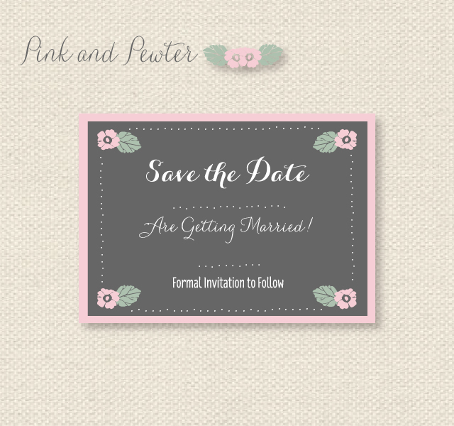 image about Free Printable Save the Date titled Obtain Absolutely free Printable Help you save The Dates Pantone Shades 2013