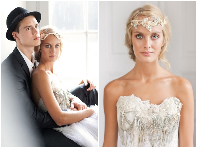 The Jannie Baltzer 2013 'Love' Collection | Bridal Hair Accessories