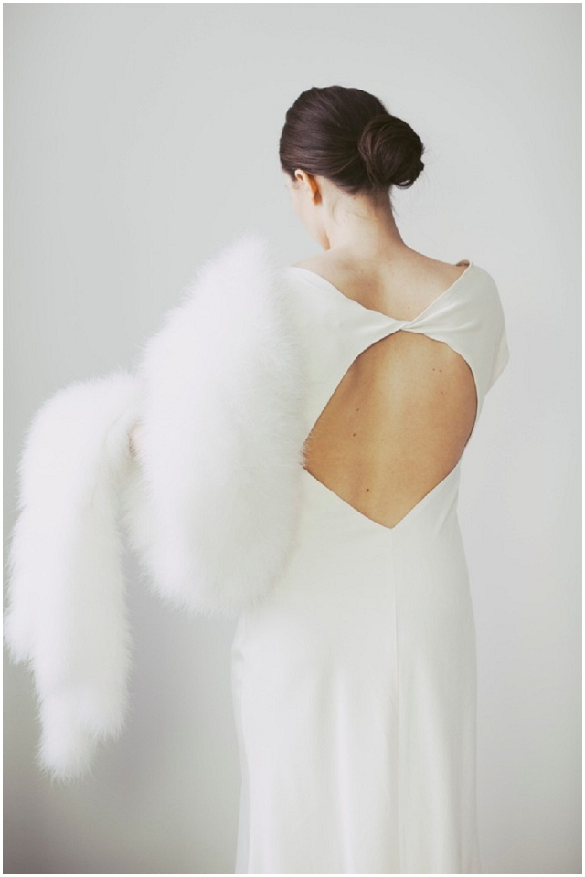 Bridal winter wedding shrugs and stoles